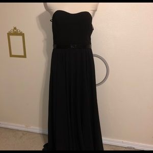 Lulus Black night dress NWT size large